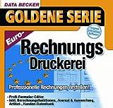 EURO-Rechnungs-Druckerei, 1 CD-ROM Professionelle Rechnungen erstellen! Profi-Formular-Editor, Inkl. Brechnungsfunktionen, Journal & Auswertung, Artikel-, Kunden-Datenbank. Für Windows 95/98SE/Me/NT 4.0/2000/XP