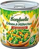 Bonduelle - Erbsen mit Möhrchen - 425ml/265g