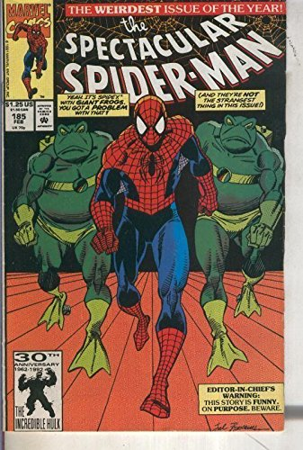 The Spectacular Spider Man volumen 1 numero 185 (1992)