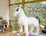 Riesige aufblasbare Höhe der Zeichentrickfilm-Figur-2m buntes aufblasbares Einhorn-Spielzeug