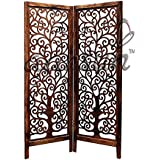 Aarsun Woods Wooden Partition,4ft(Height) Room Divider