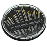30X Assorted Hand Sewing Needles Embr...