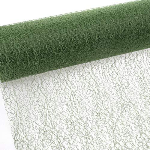 Tischband - Tischläufer - 30 cm Breite - 25 m Länge - Olivgrün - 67 029-R 300 ()