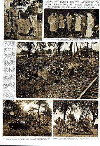 1951 GUERRE BRITANNIQUE JOHNSON DES SOLDATS B.A.O.R NEINBURG