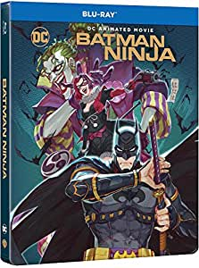 Batman Ninja - Edition Limitée Steelbook - Blu-ray - DC COMICS [Édition SteelBook]