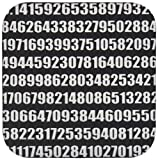 3dRose cst_164993_2 Pi Math Number Mathe...