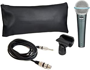 Sound King Beta 58A Dynamic Vocal Karaoke Microphone With 3.5mm