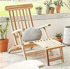 Teak Holz Deckchair