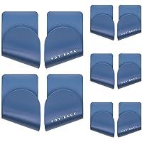 Winfred 5 Paires Support de Couvercle de Casserole Auto-Adhésif, Porte Couvercle Autocollant Support Mural de Couvercle…