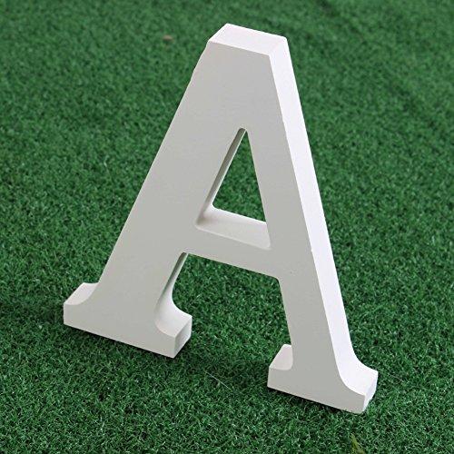 Moresave Altweiß Holzbuchstabe Freistehend Alphabet Wort