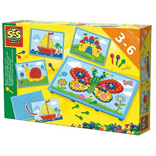 SES Creative 14898 - Mosaikbrett mit Vorlagen