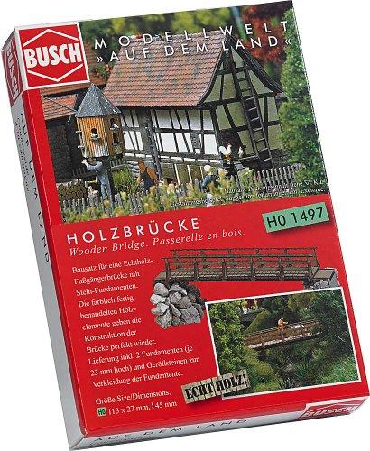 Busch 1497 - Holzbrücke