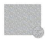 Artland Qualität I Alu Küchenrückwand Spritzschutz Küche 90 x 75 cm Abstrakte Motive Muster Foto Grau B9PR Granit-Gestein hellgrau
