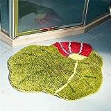 Luxbon Lotus Blatt Teppiche Stopp Antirutschmatte Teppichunterlage Fußmatte Stufenmatten Treppenmatten