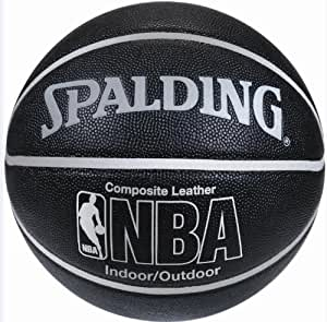 Spalding Basketball NBA DELUXE SILVER INDOOR & OUTDOOR
