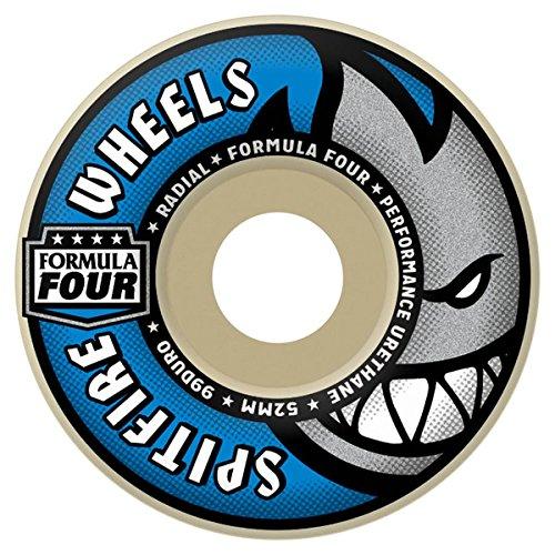 Spitfire sfwhff039Spiel-4Skateboard-Räder, Mehrfarbig 52mm