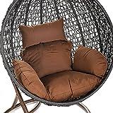 Home Deluxe Polyrattan Hängesessel Cocoon, inkl. Sitz- und Rückenkissen - 6