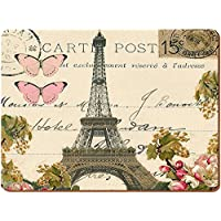 Creative Tops-Set di 2 grandi Paris Postcard Everday Home Tovagliette