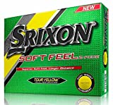 Srixon Toucher Doux Jaune Golf Balles (12 Balles) 2016