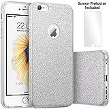 TecHERE StarCase - Coque Etui à La Mode pour iPhone 6 / 6s (4,7 Pouces) - Strass...