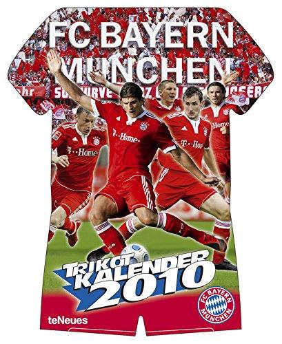 Preisvergleich Produktbild FC Bayern München 2010. Trikotkalender