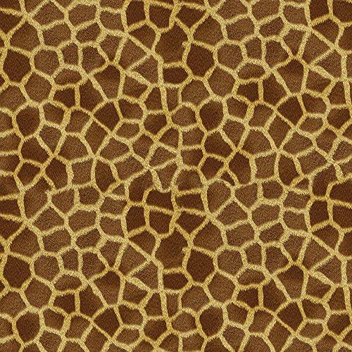 Apple iPhone 5s Housse Étui Protection Coque Look girafe Fourrure Animaux Étui en cuir marron