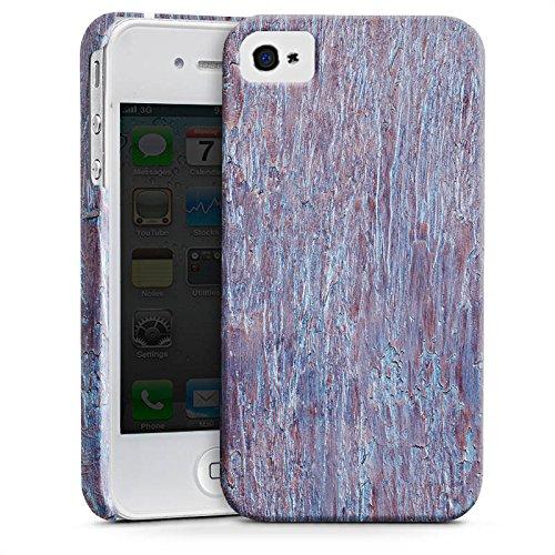 Apple iPhone X Silikon Hülle Case Schutzhülle Holz Perlmutt Muster Premium Case glänzend