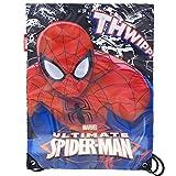 Kinder Turnbeutel für Jungen und Mädchen Eiskönigin Paw Patrol Spiderman (Spiderman)