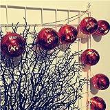 Natale Luci per LED Rovinci Luci Stringa Decorative Fiocco di Neve Catena Luci per la Decorazione casa Matrimonio Natale Partito Estensibile Per Interni, Esterni, Festa Di Matrimonio, Albero Di Natale
