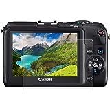 Härdat glas skärmskydd för Canon G7X/G9X/G5X, 0,3 mm ultratydlig LCD-skyddsfilm med 9H hårdhet, anti-scrach, bubbelfritt, ant