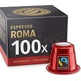 100 Nespresso-compatibele capsules - Espresso Roma Fairtrade