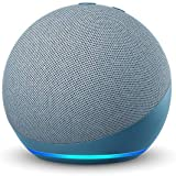 Echo Dot (4th Gen, 2020 release)| #1 smart speaker brand in India with Alexa (Blue)