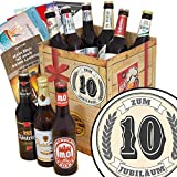 Zum 10. Jubiläum   Bier Geschenkideen mit Biersorten aus Ost-Deutschland