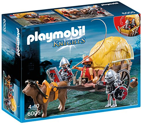 Playmobil 6005 Hawk Knight's with Camouflage Wagon