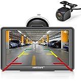 AWESAFE GPS para Coches con 7 Pulgadas Pantalla LCD con Bluetooth y Cámara Trasera, Navegador GPS para Camión con Actualizaci
