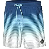 O'Neill Herren Long Beach Shorts Bademode Badeshorts, AOP W/Blue, M
