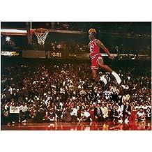 Póster Michael Jordan XXL - Slam Dunk Contest (137cm x 99cm) + 1 póster sorpresa de regalo