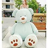 VERCART Groß Teddybär Spielzeug Kuscheltier Gigantischer Puppe Weiches Plüsch als Geschenk Geburtstagsgeschenk zur Dekoration Erwachsene Kinder Braun 130CM