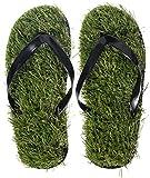 """Chanclas con diseño """"Lawn"""" - Zapato verde talla 40 a 44 - Sandalias Motiv Beach como idea de regalo - Grinscard"""