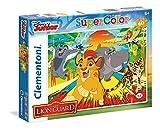 Clementoni- Lion Guard Supercolor Puzzle, Multicolore, 60 Pezzi, 26960