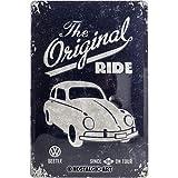 Nostalgic-Art 22202 Plaque en métal Coccinelle originale de Volkswagen [en anglais] 20 x 30 cm