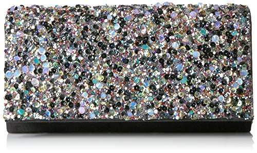 jessica-mcclintock-chloe-shimmer-stone-flap-clutch-black