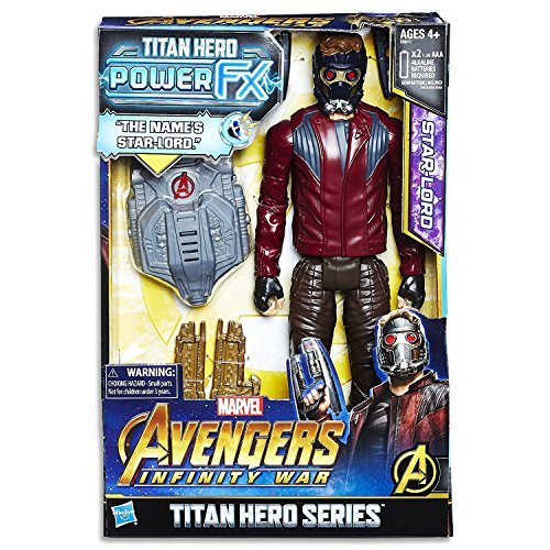 The Avengers AVENGERS E0611102 Marvel Infinity War Titan Hero Power FX Star-Lord