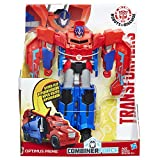 Hasbro Transformers C0642ES0 - Robots In Disguise 3-Step Changers Optimus Prime, Actionfigur
