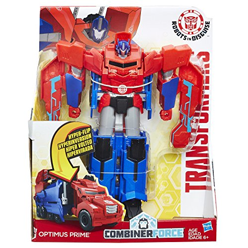 Hasbro Transformers C0642EU4B0067 - Robots In Disguise 3-Step Changers Optimus Prime, Actionfigur (Transformers Prime Kinder)