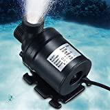 Veena DC 12V 24V Hot Water Circulation Pump Solar Water Pump Brushless Motor 800 L/H