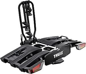 Thule 934101 Fahrradträger Für Anhängerkupplung Easyfold Xt 3 Fahrräder 13 Polig Schwarz Auto