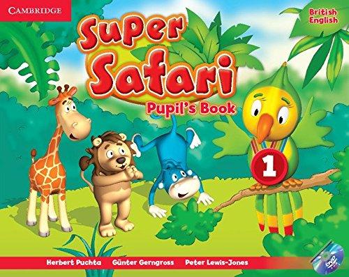 Super safari level 1 pupil's book with dvd - rom (super minds)