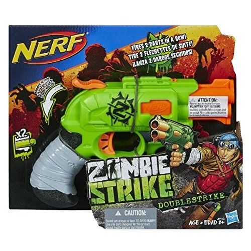Nerf - A6562Eu40 - Jeu de Plein Air - Zombie Strike - Double Strike