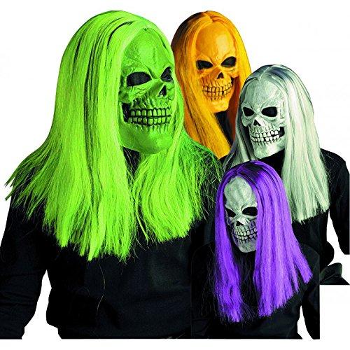 Masque perruque fluo